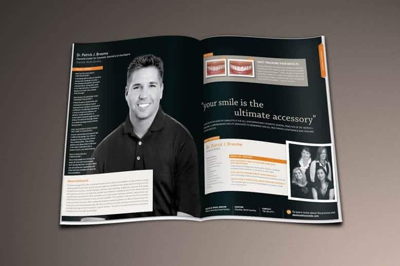 Magazine centerfold of Dr. Patrick J. Broome