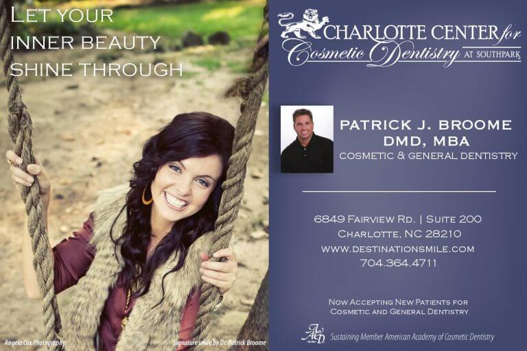 Charlotte Dentistry Cosmetic General Ad 768x512 - Print Ads