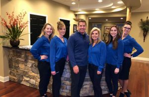 Group photo of Staff at Charlotte Center for Cosmetic Dentistry in Charlotte, NC.