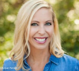 cosmetic dentistry patient in Charlotte, NC
